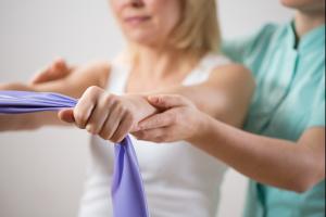 woman's arm physio